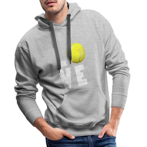 LoveTennis Shirt Ideal Gift For Tennis Players - Sudadera con capucha premium para hombre