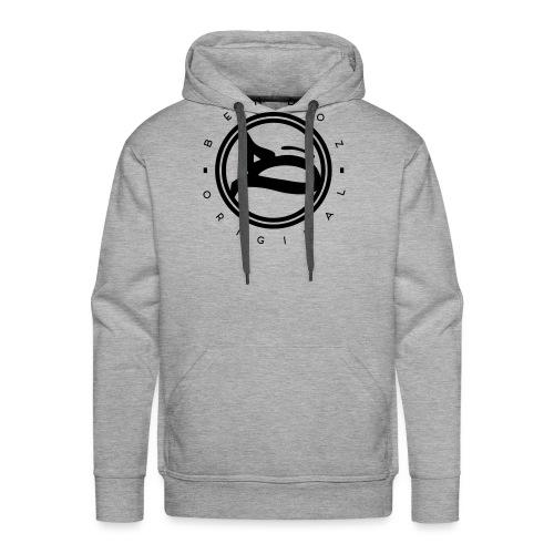 B - Logo / circular_black - Männer Premium Hoodie