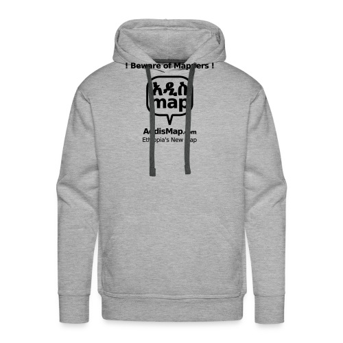 bewareofmappers - Männer Premium Hoodie