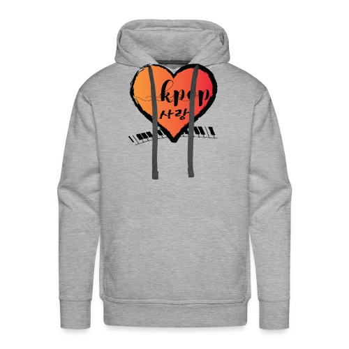 KPOP SARANG heart - Men's Premium Hoodie