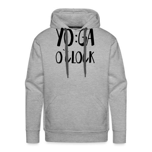 Yoga o`clock - Männer Premium Hoodie