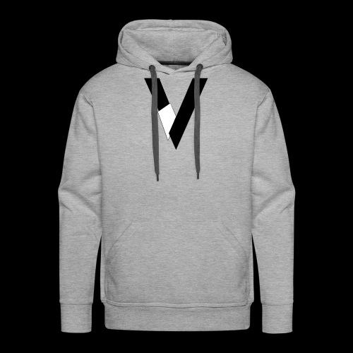 Veagles Créa - Sweat-shirt à capuche Premium pour hommes