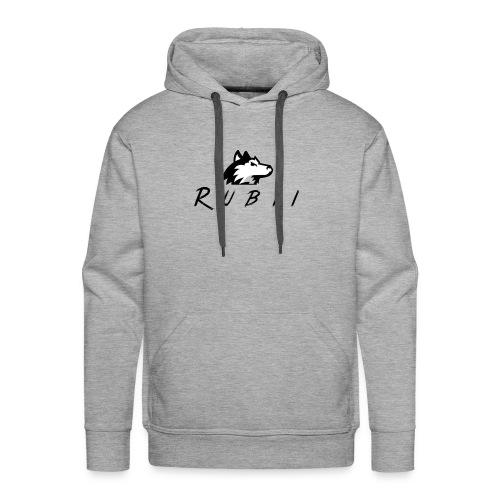 RubiiWolf - Herre Premium hættetrøje