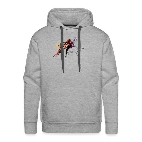 Schmetterling in Aquarelloptik - Männer Premium Hoodie