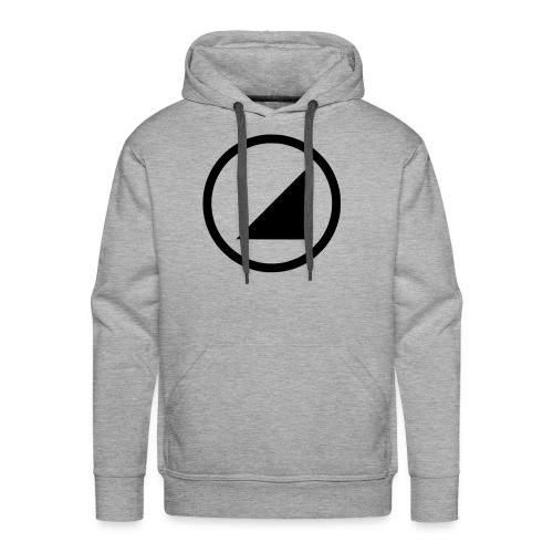 bulgebull marca oscura - Sudadera con capucha premium para hombre