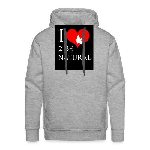 love - Mannen Premium hoodie