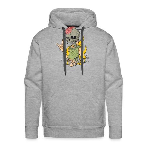 The Skull - Rock & Roll - 1 - Sudadera con capucha premium para hombre