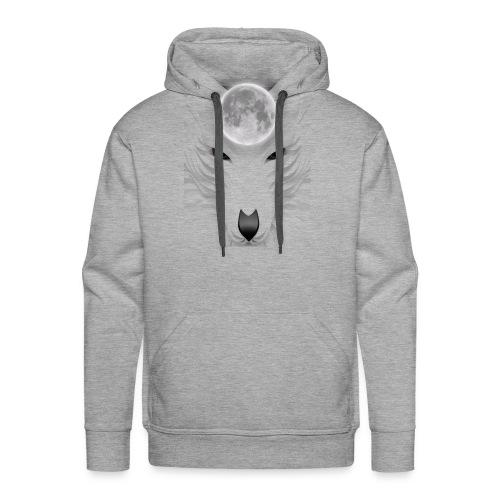 lobo - Sudadera con capucha premium para hombre
