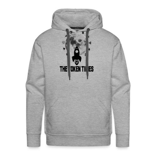 Token Times Logo 1 - Men's Premium Hoodie