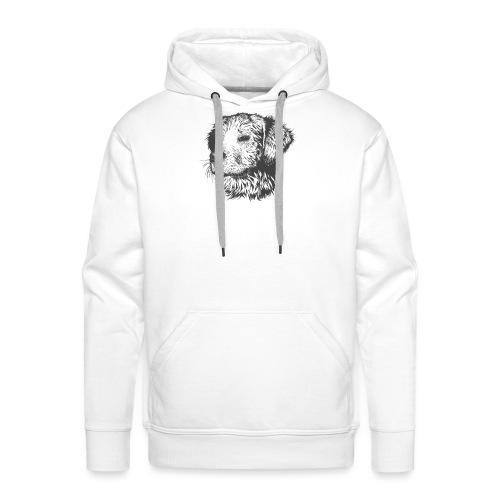 koiran kuva - Miesten premium-huppari