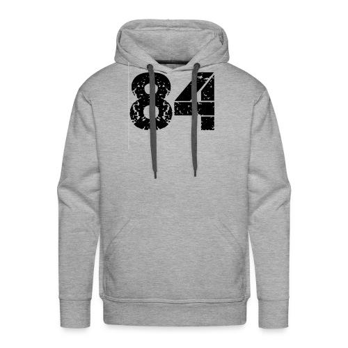 84 vo t gif - Mannen Premium hoodie