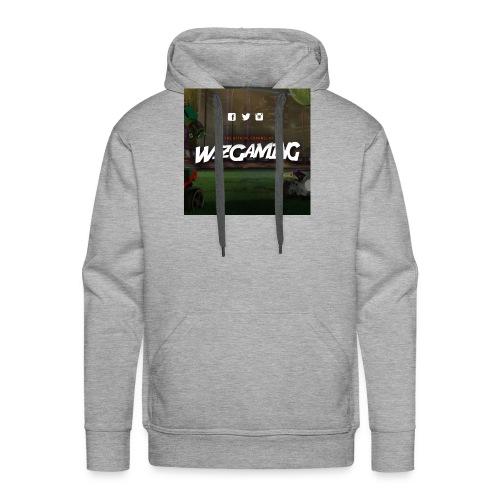 logoWizGaming jpg - Sweat-shirt à capuche Premium pour hommes