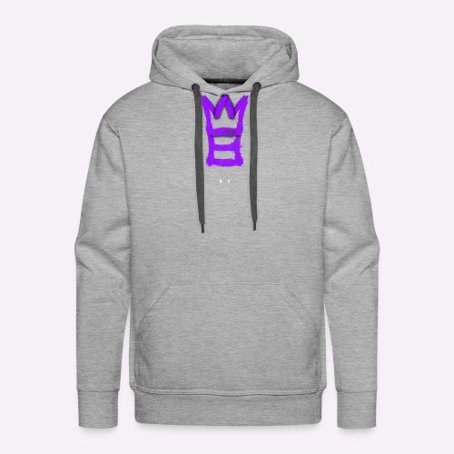M8 mit Krone - Männer Premium Hoodie