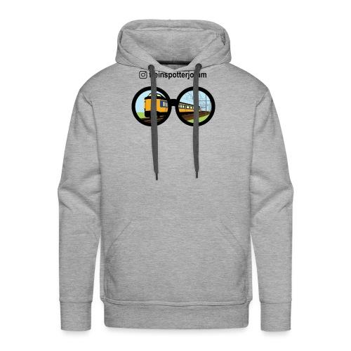 treinenspotter joram - Mannen Premium hoodie
