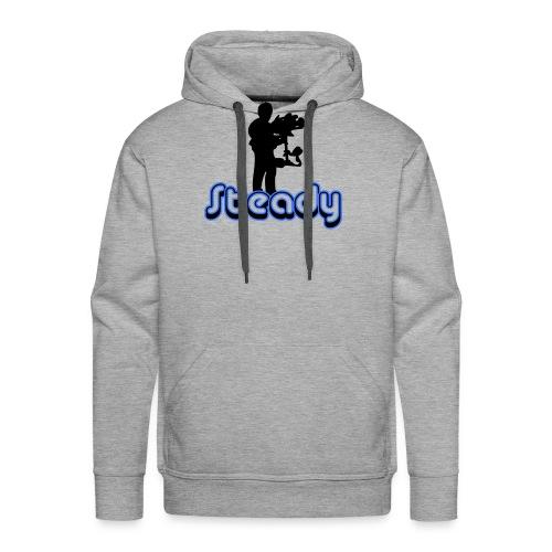 camusedesignsteadicameenvoudtekst2kleur - Mannen Premium hoodie