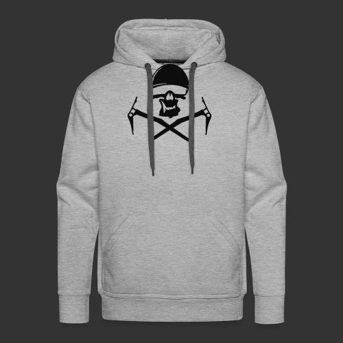 Climbing Skull - Männer Premium Hoodie