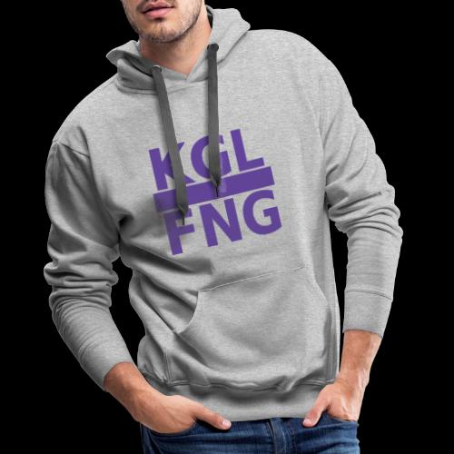 KGLFNG lila - Männer Premium Hoodie