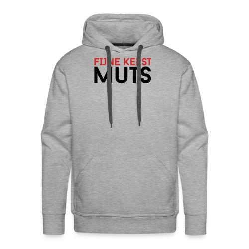 Fijne Kerst Muts - Mannen Premium hoodie