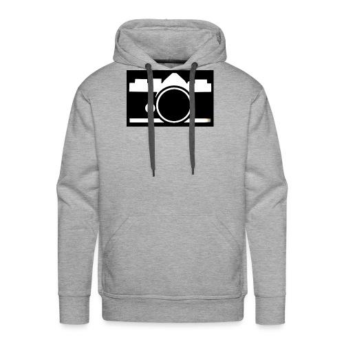 Vintage Camera - Felpa con cappuccio premium da uomo