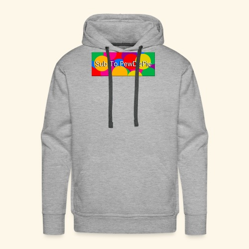 Sub To Pewdiepieeeee - Sweat-shirt à capuche Premium pour hommes