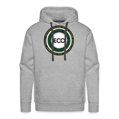 eco-illustration-logo-rot - Men's Premium Hoodie