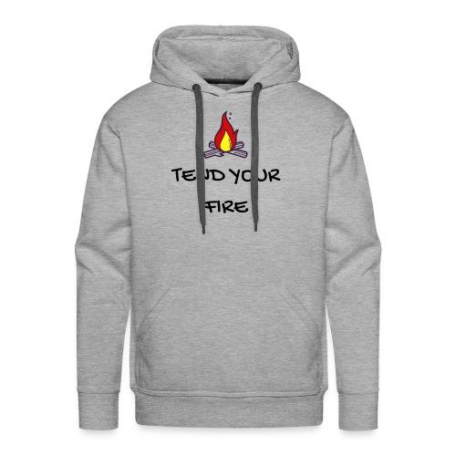 tendyourfire black 1 - Männer Premium Hoodie