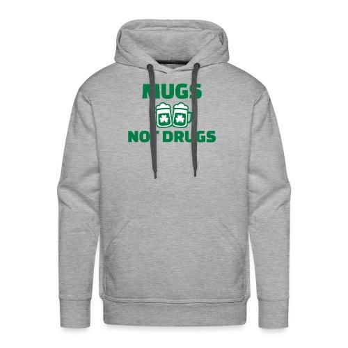 MUGS NOT DRUGS - Sweat-shirt à capuche Premium pour hommes