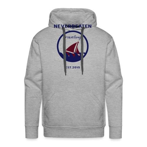 Traveling, Neverbeaten - Männer Premium Hoodie