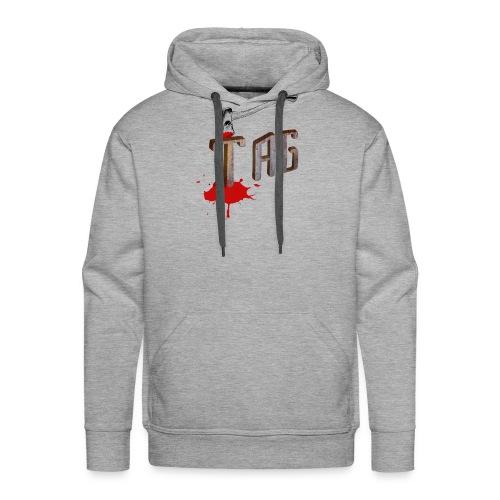 Hache Tag - Sweat-shirt à capuche Premium pour hommes