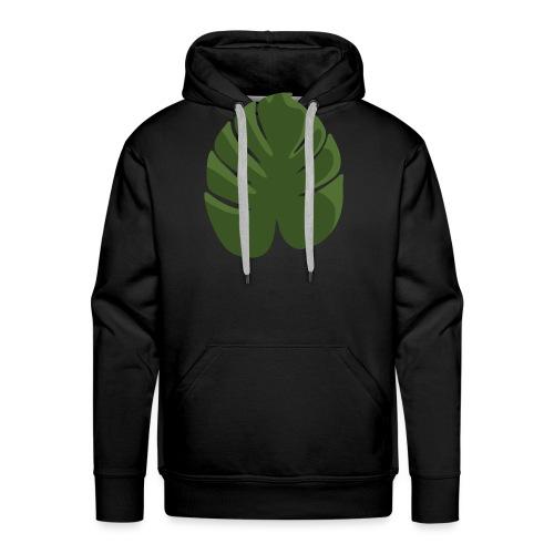 Green - Felpa con cappuccio premium da uomo