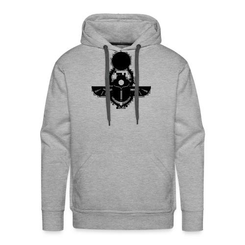Scarabée Egyptien - Sweat-shirt à capuche Premium pour hommes