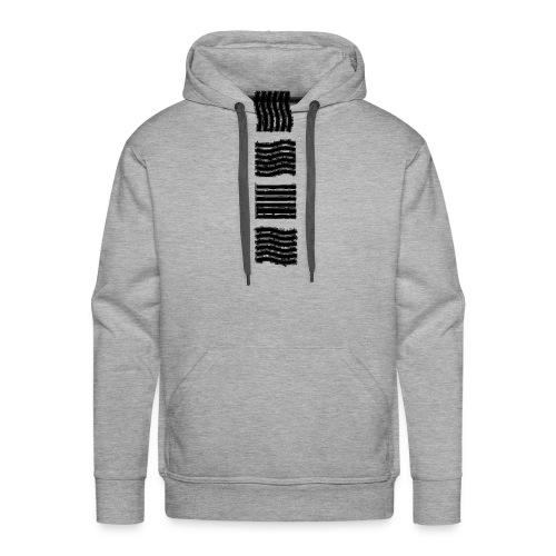 Les 4 élements - Sweat-shirt à capuche Premium pour hommes