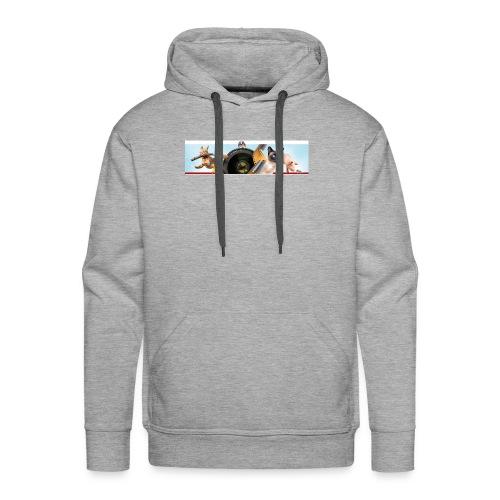 Animaux logo - Mannen Premium hoodie
