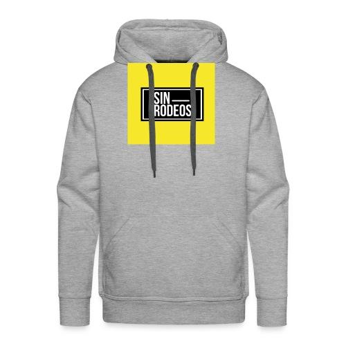 SINRODEOS T-Shirt - Sudadera con capucha premium para hombre