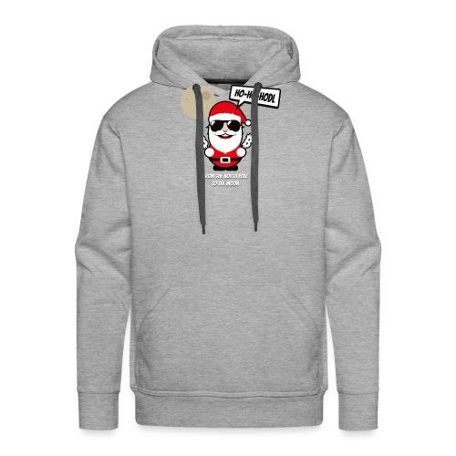 ho-ho-hodl-santa.png - Männer Premium Hoodie
