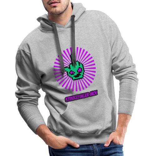 Round Logo mit Name - Männer Premium Hoodie