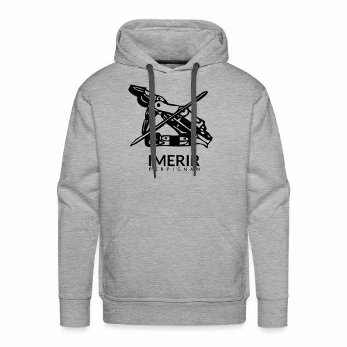 Ancien logo Imerir Noir - Sweat-shirt à capuche Premium pour hommes