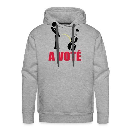 A voté - Sweat-shirt à capuche Premium pour hommes
