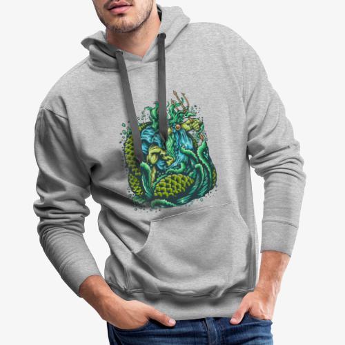 Dieu de la mer - Sweat-shirt à capuche Premium pour hommes