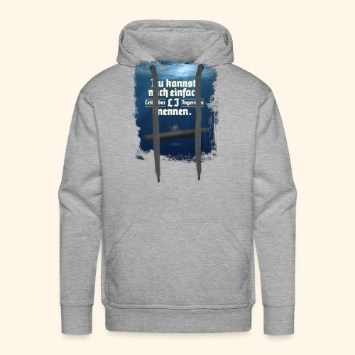 Ingenieur T Shirt Leitender Ingenieur LI - Männer Premium Hoodie