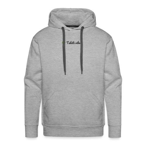 Tahiti vibes - Sweat-shirt à capuche Premium pour hommes