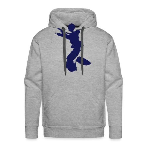 Wing Chun / Kung Fu Tusche Figur VEKTOR - Men's Premium Hoodie