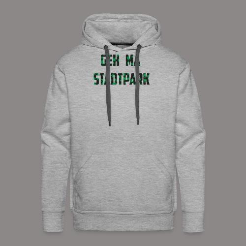 Geh ma Stadtpark - Männer Premium Hoodie