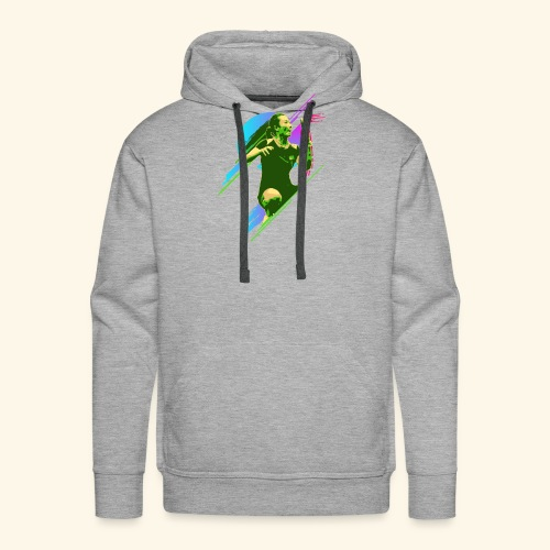 Play with the game and win the championship - Männer Premium Hoodie
