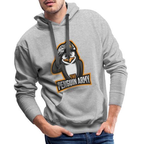The Penguin Army Logo - Männer Premium Hoodie