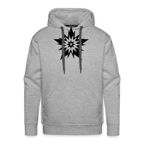 black star étoile stars - Sweat-shirt à capuche Premium pour hommes
