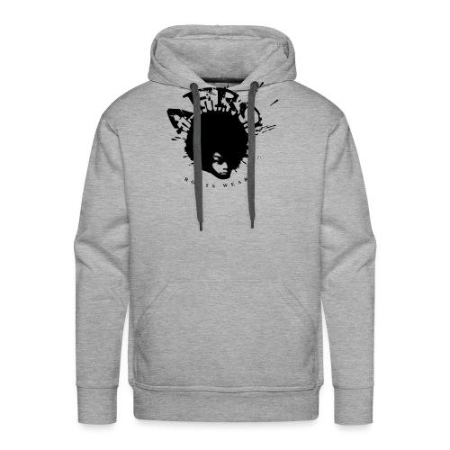 Afro-Back - Sweat-shirt à capuche Premium pour hommes