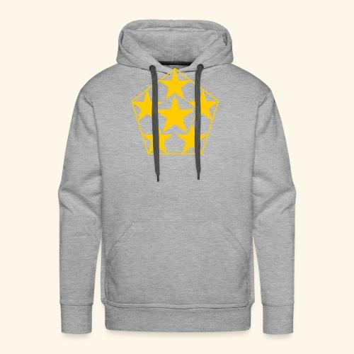 5 STAR gelb - Männer Premium Hoodie