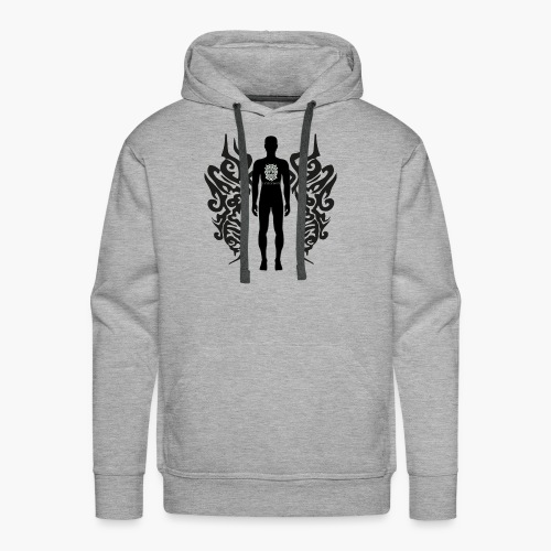 Houseology Original - Angel of Music (INVERSE) - Men's Premium Hoodie