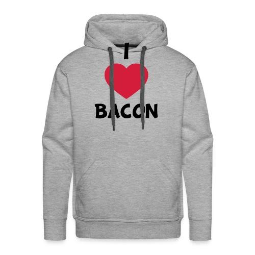 I love bacon - Herre Premium hættetrøje